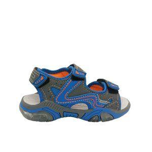 Kids Shoes Bolt Sparrow Grey/Blue Surf Sandals
